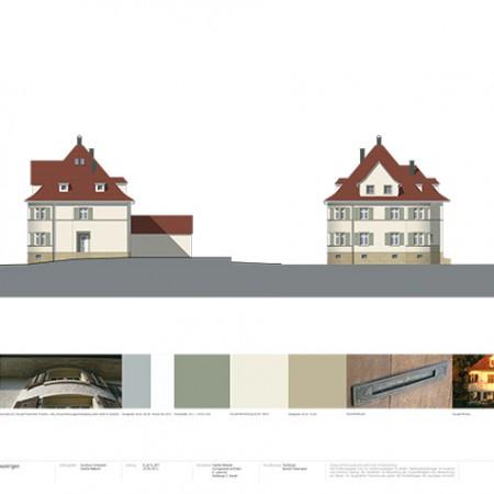 Farbdesign-Villa-Pfarrhus
